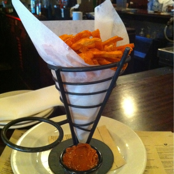 Sweet potato fries @ Goose Island Brew Pub
