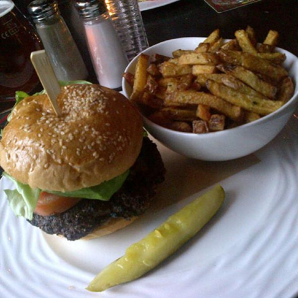 Black & Bleu Burger @ Wildcraft Grill Bar