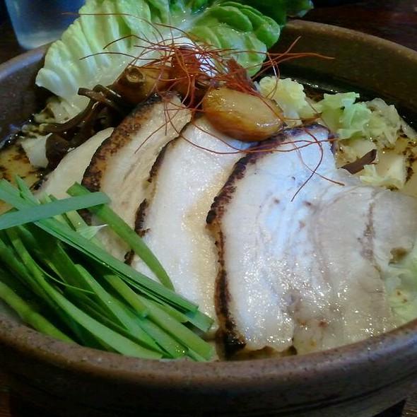 Spicy Garlic Pork Ramen