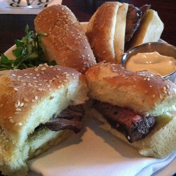 Prime Rib sandwich - Morton's The Steakhouse - Orlando, Orlando, FL