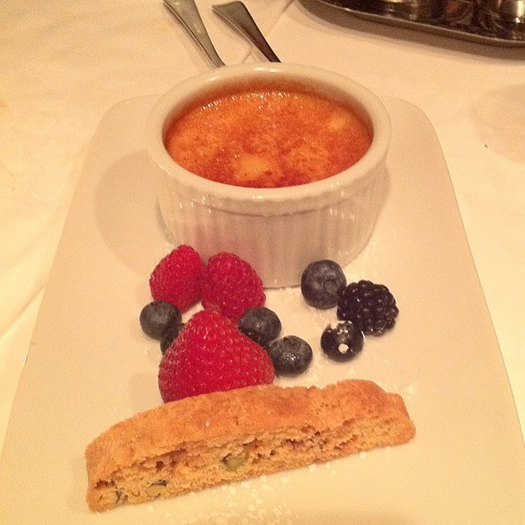 Creme Brulee - Terra Restaurant, Thornhill, ON