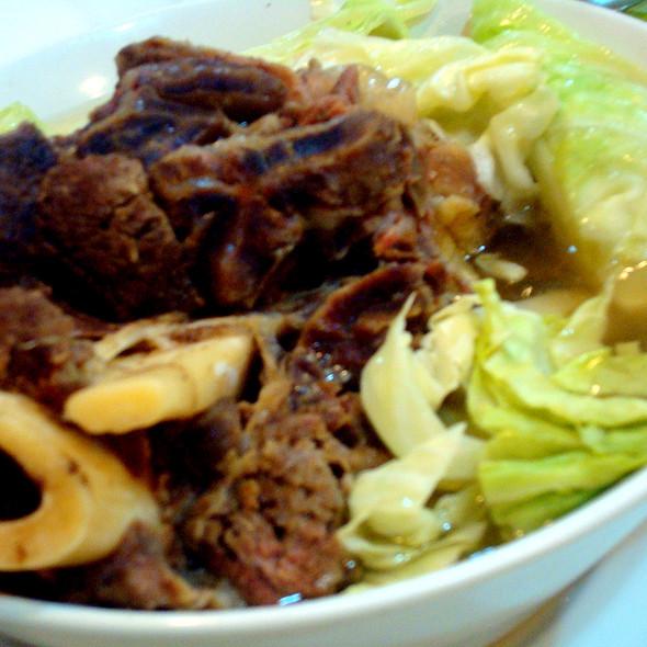 Bulalo @ Diner's Cafe