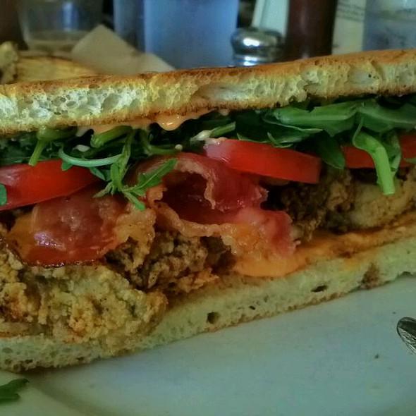 Fried Oyster Sandwich - Little Dom's, Los Angeles, CA