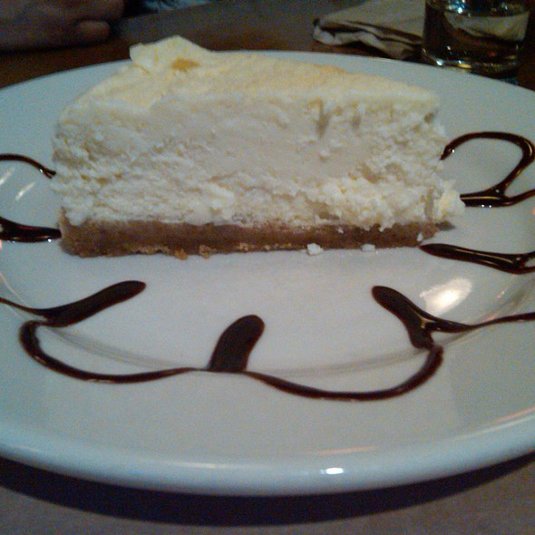 Housemade Cheesecake - Little Star Pizza, Albany, CA