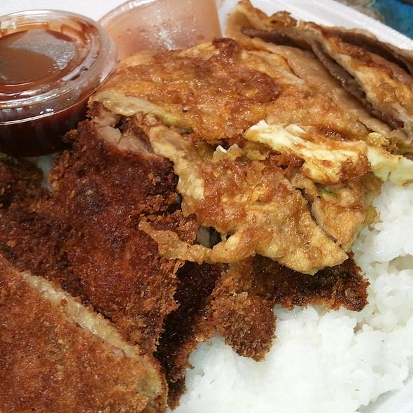 Chicken Katsu & Mandoo @ Yooncy Korean BBQ