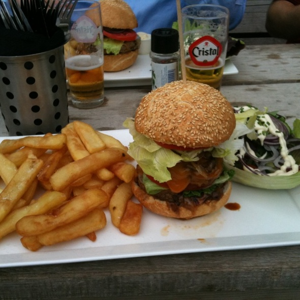 Double Decker Burger @ Burgerij