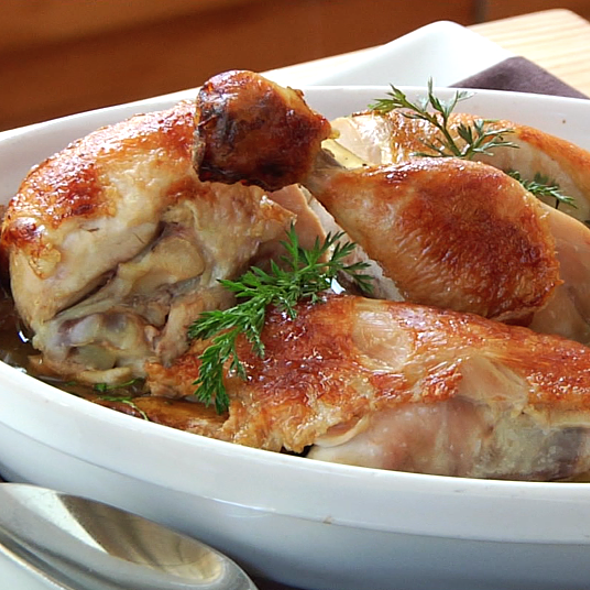Herb Roasted Jidori Chicken @ JG Domestic