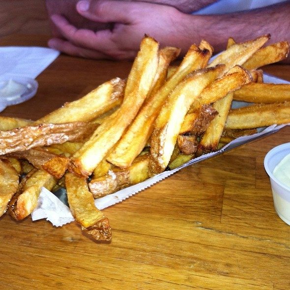 Belgian Fries @ Valhalla Table