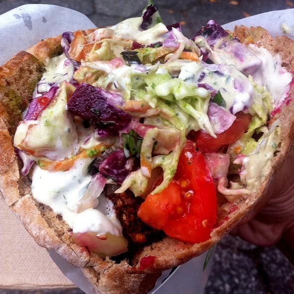 Maoz Falafel Sandwich @ Maoz Vegetarian