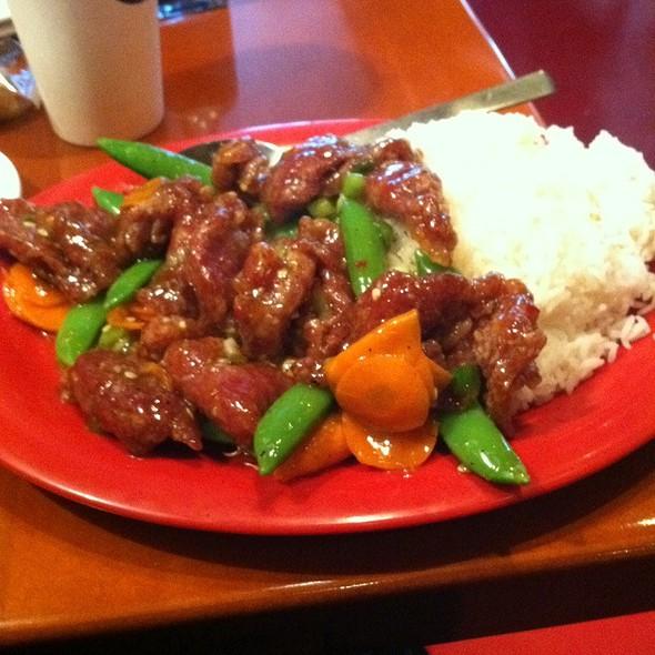 Pei Wei Spicy Beef