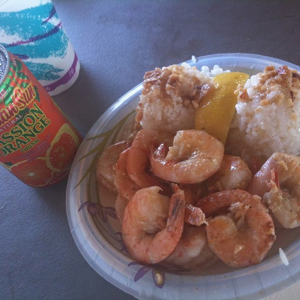 Plate Lunch @ Giovanni's Shrimp Truck
