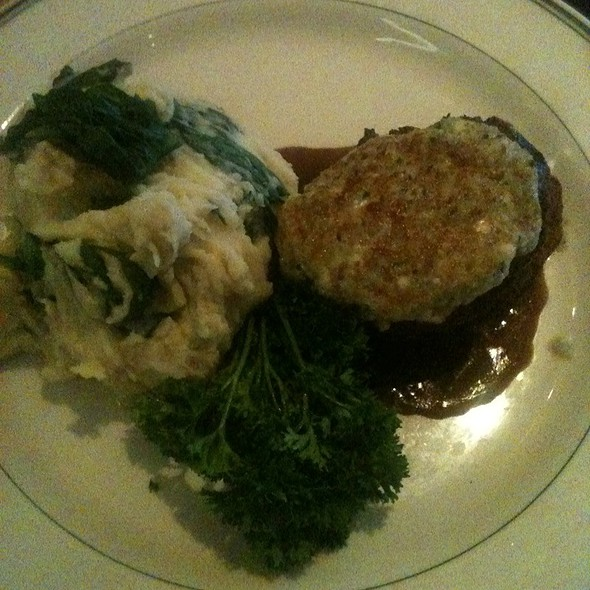 Bleu Cheese Crusted Filet Mignon - The Grill on the Alley - Westlake Village, Westlake Village, CA
