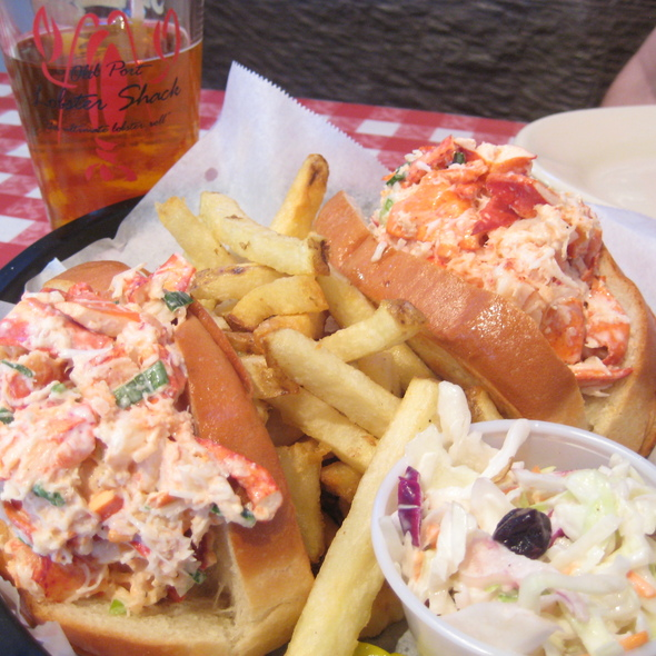 Lobster Roll (Sandwich) @ Old Port Lobster Shack