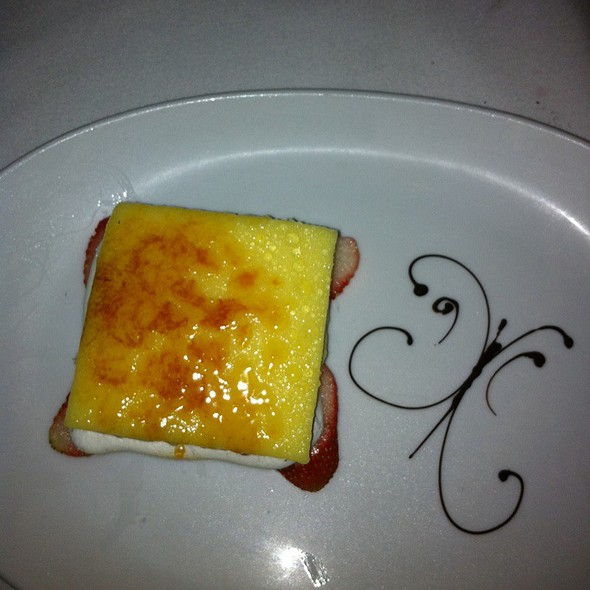 White Chocolate Creme Brule - Dining on the 5th, Atlantic City, NJ