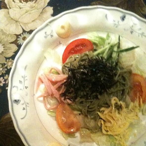 Cha Soba Salad @ Ma Maison