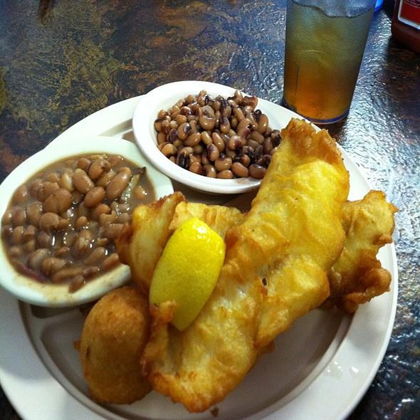 Fried Cod Filet @ Jackson's Family Restaurant
