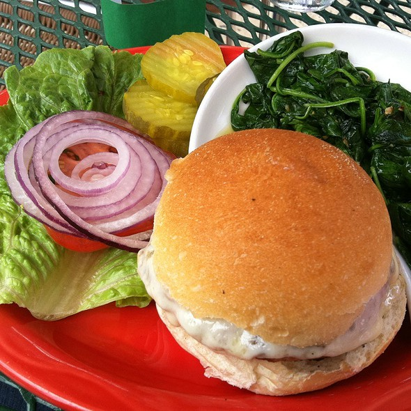 Turkey Burger @ Jon's Bar & Grille
