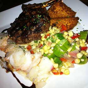 Elk Chop & Lobster Tail