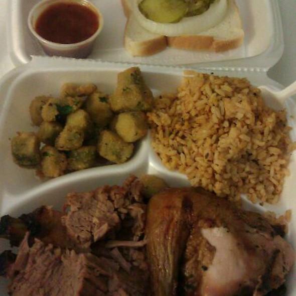 3 Meat BBQ Dish