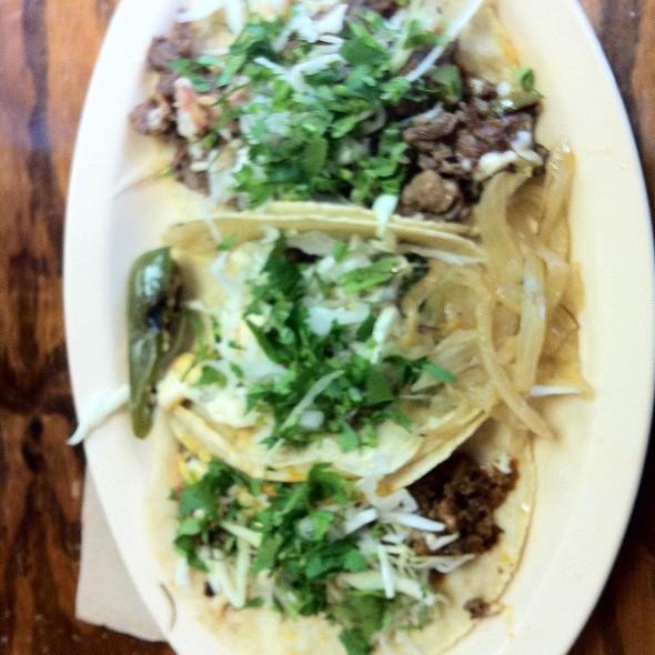 Tacos @ Taqueria Monterrey