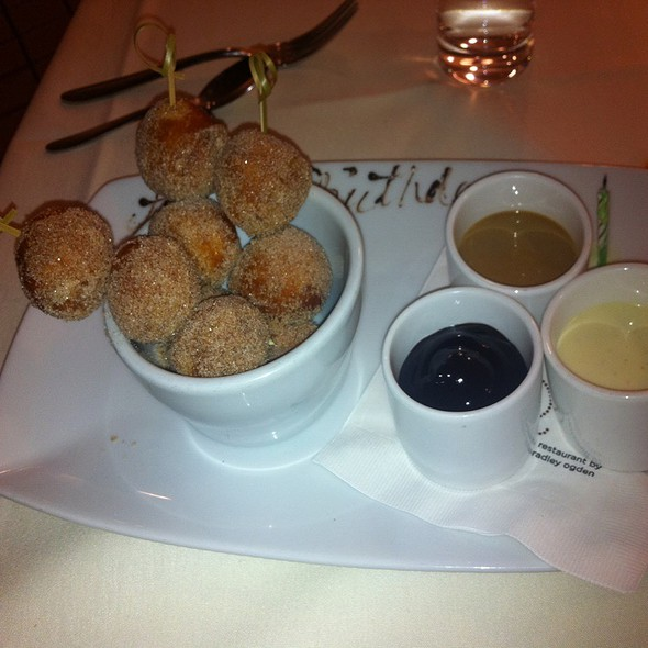 Sugared Donut Holes  - Root 246 at Hotel Corque, Solvang, CA