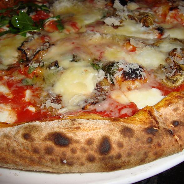 Eggplant Pizza @ Dolce Vita