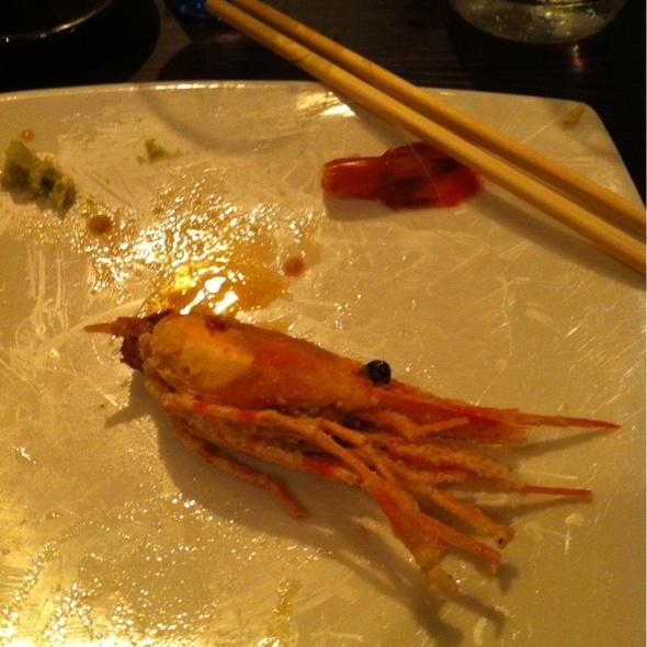 Fried Prawn Head @ Sushi-Ko