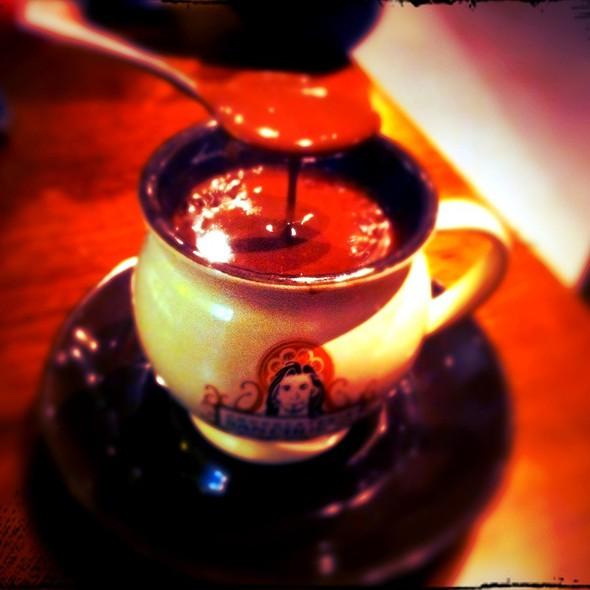 Azteca Hot Chocolate @ Chocolateria San Churro