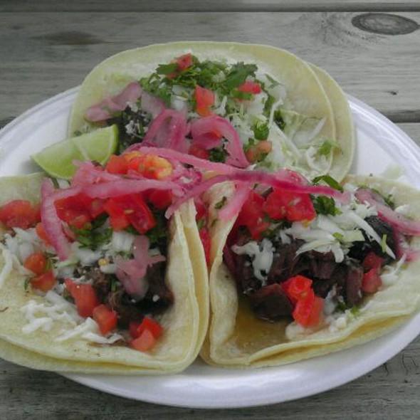Barbacoa Tacos @ The Taco Bus, St Pete, Fl