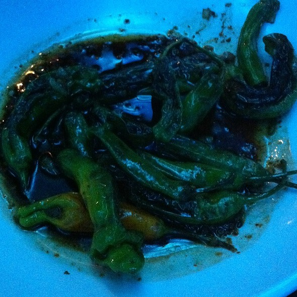 Shashito Peppers @ Blue Sushi Sake Grill Fort Worth