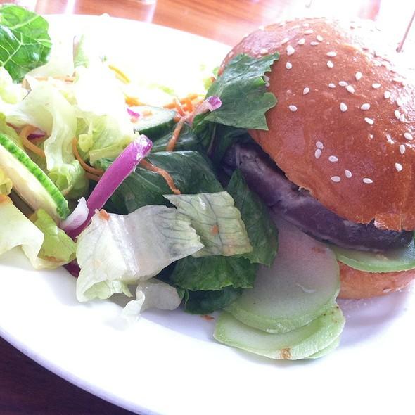 Ahi Tuna Burger @ 3 Square Cafe + Bakery
