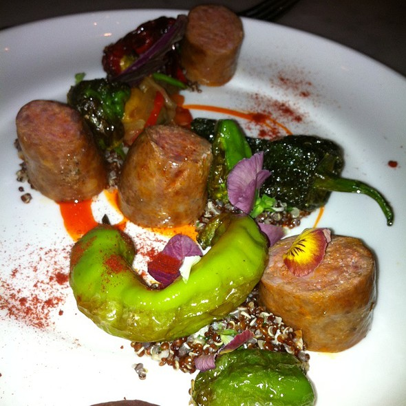 Pork Sausage, Sweet Pepper And Red Quinoa @ SPQR