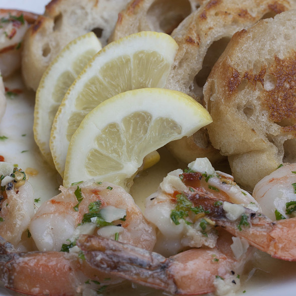 Lemon Garlic Shrimp @ Daniel's Restaurant And Lounge