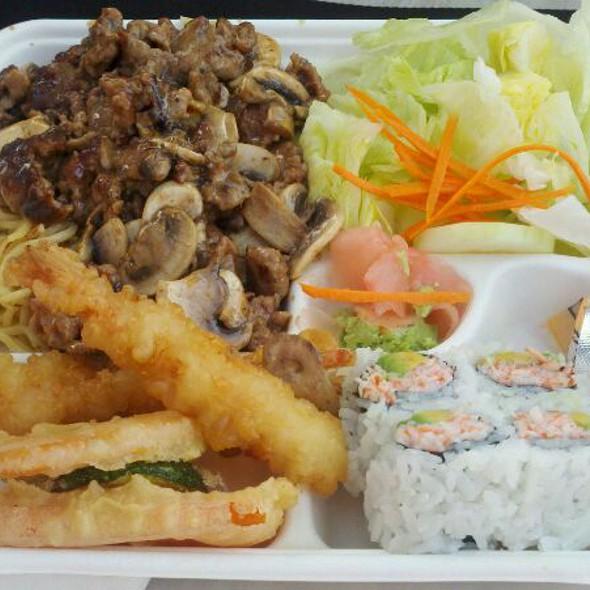 Beef Teriyaki Plate @ Sarku Japan