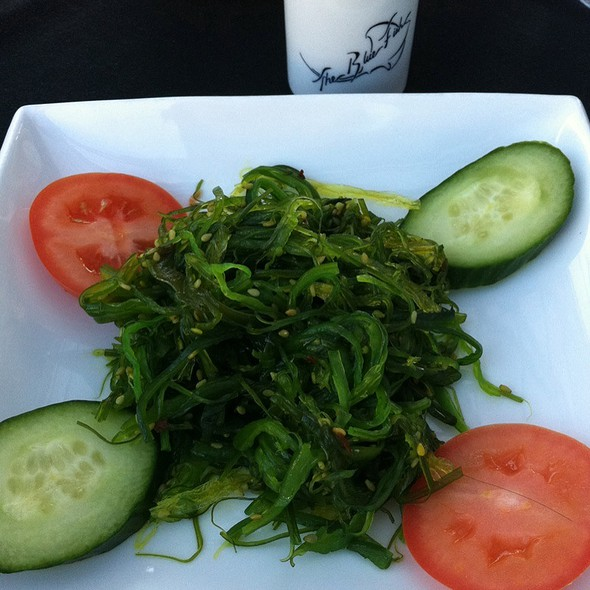 Seaweed salad - The Blue Fish - Greenville Ave, Dallas, TX