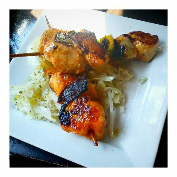 Grilled Chicken Skewers @ La Tasca