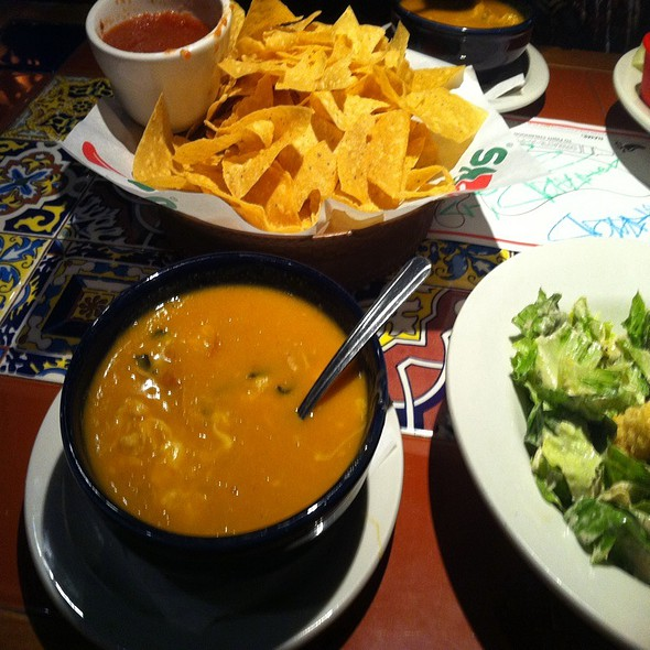 Bottomless Chicken Enchilada Soup  @ Chili's Grill & Bar