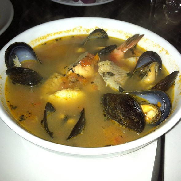 Fish Soup In Pernot Broth @ Cheryl's Global Soul