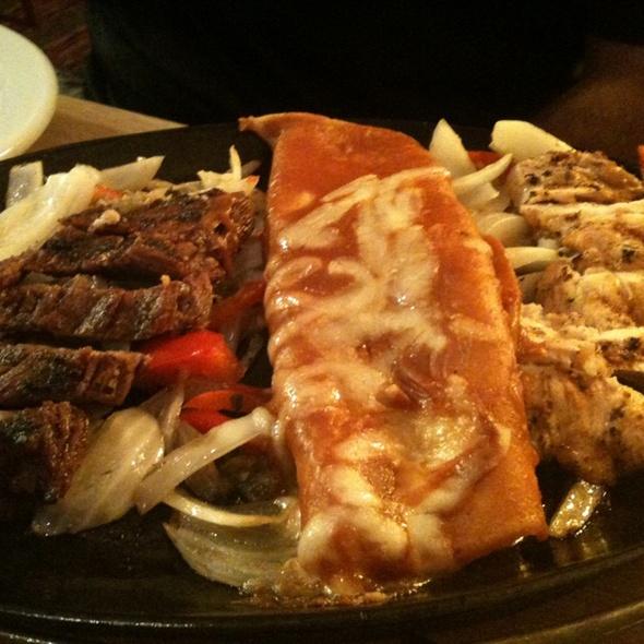 Chef Pepe's Fajita Combo @ El Torito Mexican Grill