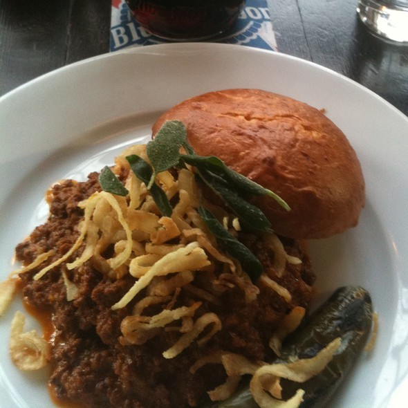 Wild Boar Sloppy Joe @ Quinn's Pub