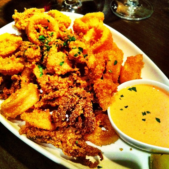 Fried Calamari With Tamarillo Sauce - Panzano, Denver, CO