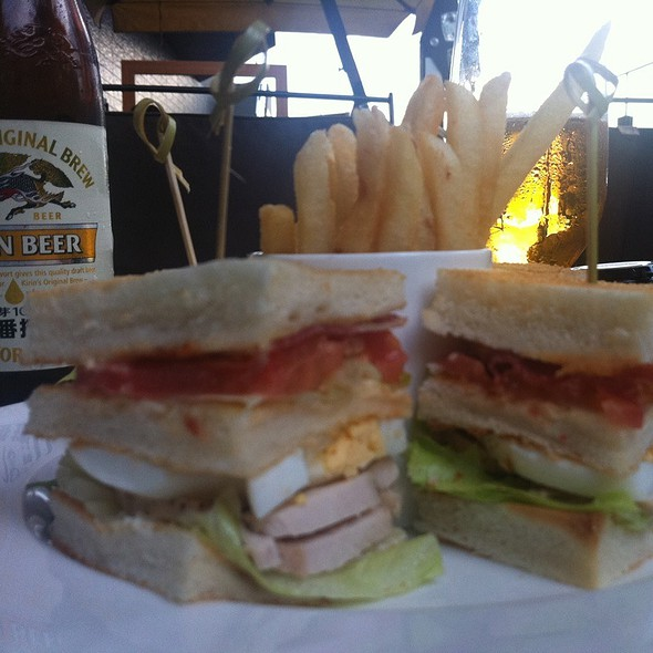 Club Sandwich @ BVLGARI IL CAFE