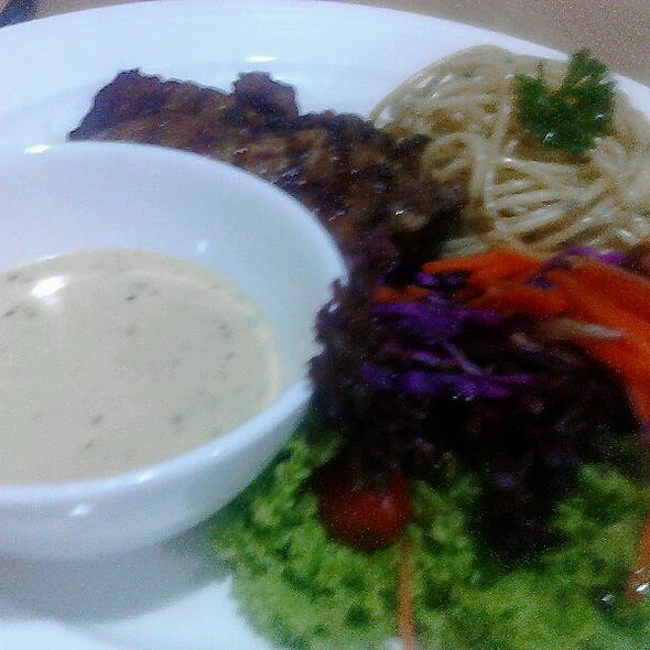 Grill Chicken Chop @ Nj Cafe & SteakHouse