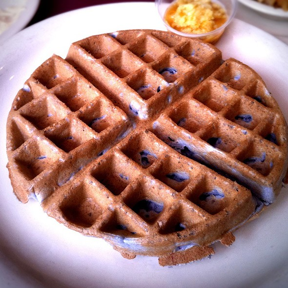 Blueberry Waffle @ Maxine's Chicken & Waffles