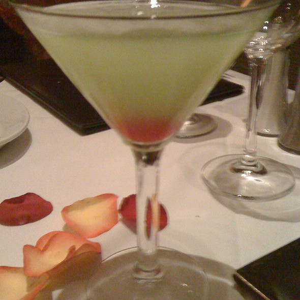 Appletini Martini @ Ruth's Chris Steak House