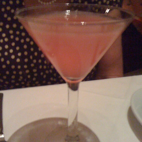 Cosmopolitan Martini @ Ruth's Chris Steak House