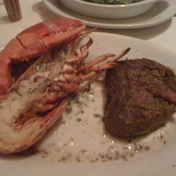 Filet Mignon Steak with Lobster
