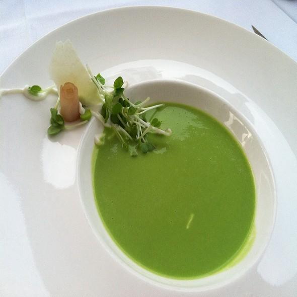 Asparagus Cold Bisque @ Blackbird Restaurant