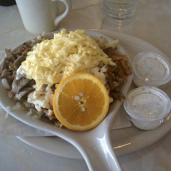 Greek Skillet @ Capitol Cafe