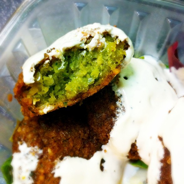 Falafel @ California Golden Cookies